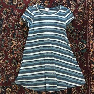 striped dress. from nastygal!